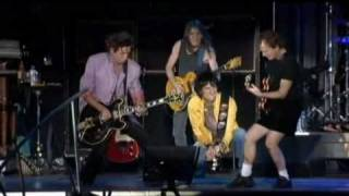 Rock Me Baby - The Rolling Stones & AC DC(HQ Video - The Rolling Stones With Angus And Malcolm Young (Festwiese, Leipzig - Germany, June 2003), 2010-02-12T23:27:44.000Z)