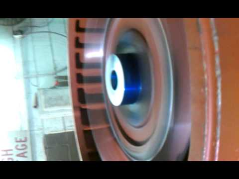 350 HP us electric motor test