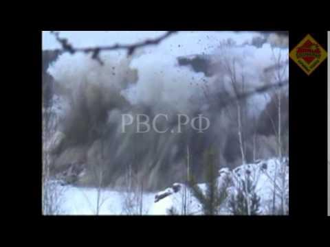 РВС Ч.374 Щебёночный карьер Абзаково 2008.01.25