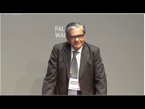 Jagdish Bhagwati -- Breaking The Wall of Extreme Poverty @Falling-Walls 2013
