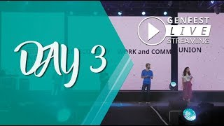 LIVE DAY 3 @ July 8 - 10:30/13:00 - ENGLISH - Genfest 2018 - WTC