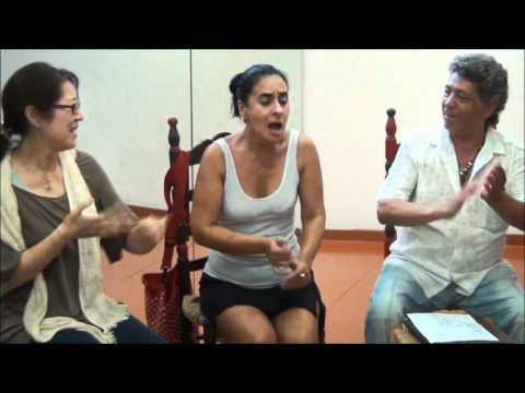 Centro de Arte Flamenco Esperanza Fernández.- Clase de cante Magistral de Curro Fernández.