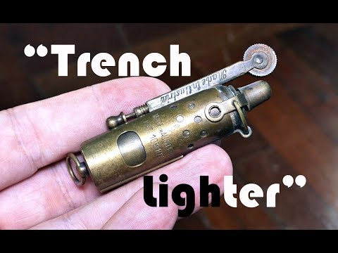 "Antique Collectable Imco IFA ""Trench Lighter"""