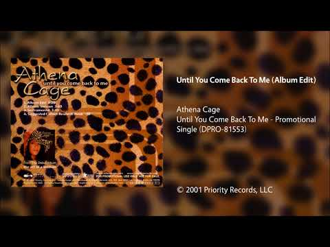 Athena Cage - Until You Come Back To Me (Album Edit)