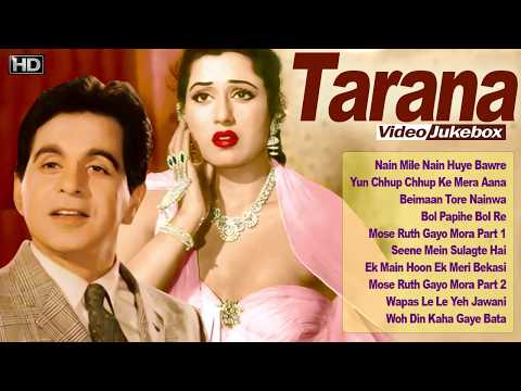 Dilip Kumar, Madhubala - Super Hit Vintage Video Songs Jukebox  - Tarana - HD