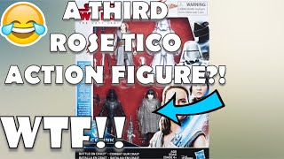 STAR WARS: THE LAST JEDI Battle on Crait TOY REVIEW!  ROSE TICO GETS A 3RD FIGURE!?