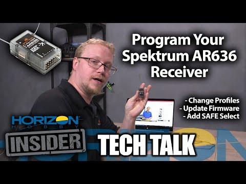 Spektrum AS3X Step 2: Receiver Installation (Initial Setup