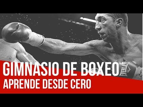Boxeo en Barcelona con Karim 'El Diablo' El Ouazghari - Xfit tu gimnasio de deportes de contacto