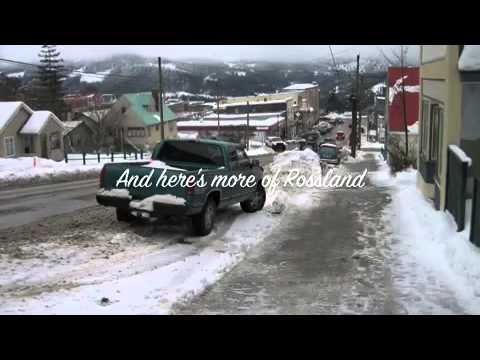 This is Rossland, British Columbia, Canada