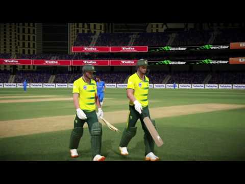 M.S Dhoni Playing As Captain! Don Bradman Cricket 17 Gameplay | India Vs South Africa | PS4 | XBOX |