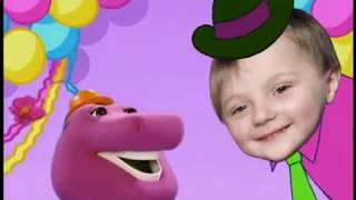 My Party with Barney Starring Joey
