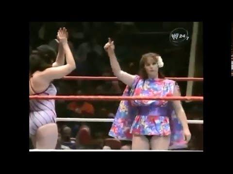 Leilani Kai & Penny Mitchell vs. Lioness Asuka & Chigusa Nagoya, 3-16-1986