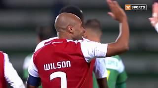 Goal   Golo Wilson Eduardo: Leça FC 0-(3) SC Braga (Taça da Portugal 19/20)