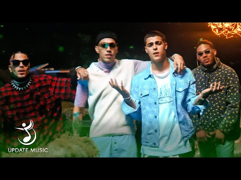 Screen shot of Myke Towers and Rauw Alejandro and Lunay and Brytiago and Revol Fantasia Sexual music video