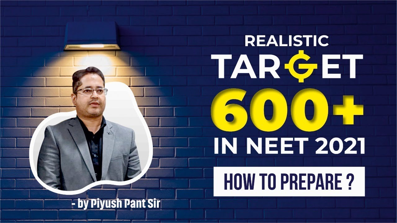 THIS IS ALL YOU REQUIRE\\TARGET 600++ in NEET 2021