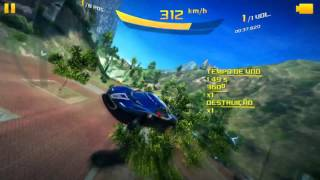 Asphalt 8 - Metal Effects on Android - Evora (Dragon Tree) 1:14.910