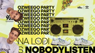 INFO + PARTY Ozweego by adidas Originals