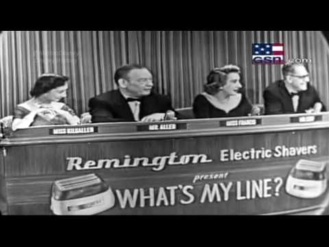 What's my Line - Donald Duck Voice [Clarence Charles Nash]