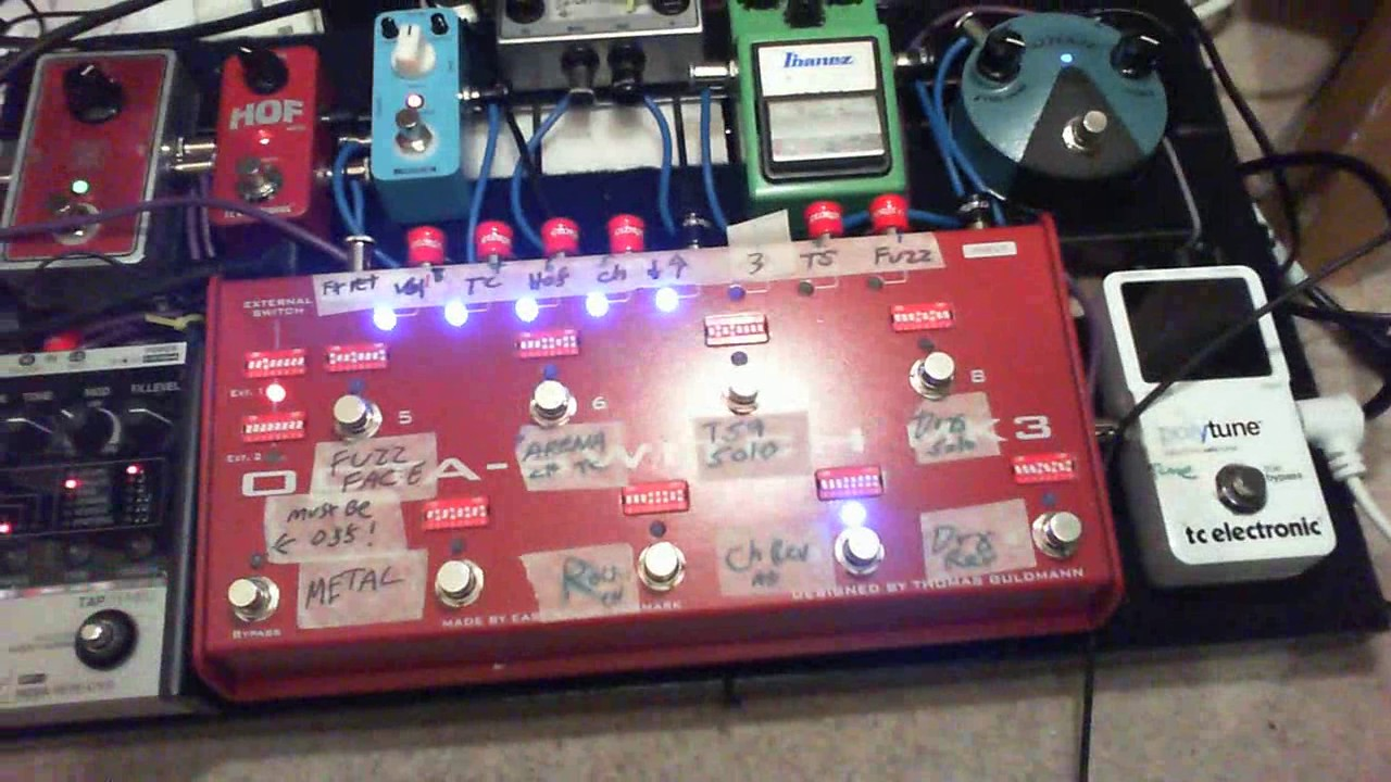 carl martin octa switch mk3 demo youtube