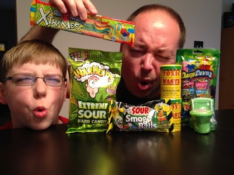 Sour Gauntlet : Warheads, Toxic Waste, Sour Flush, Smog Ball