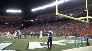 Hawaii Football Game Highlights vs. Oregon State 9-6-14