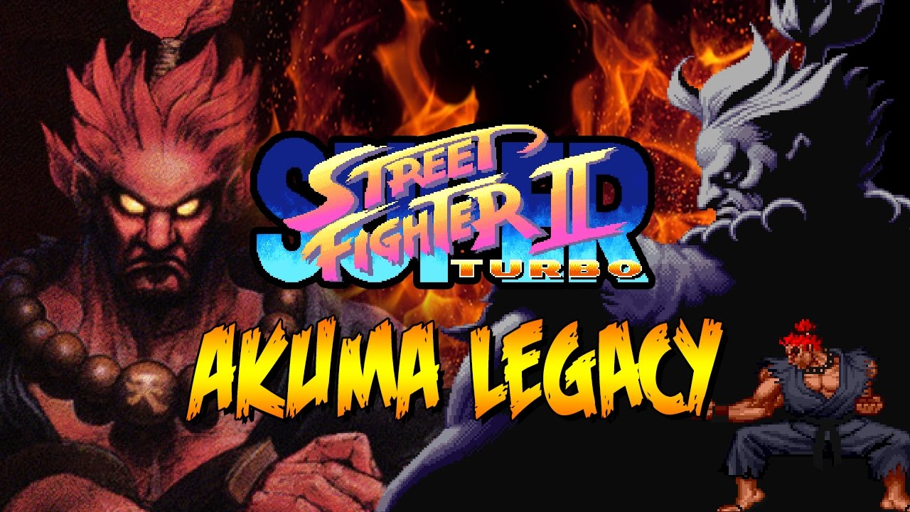 Akuma Legacy The Beginning Super Street Fighter 2 Turbo Youtube