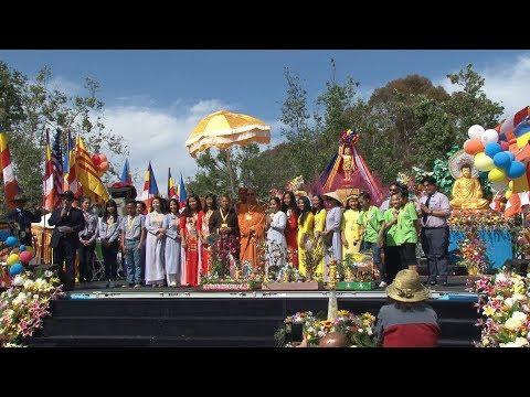 Lễ Phật Đản PL 2562 do GHPGVNTNHK  tổ chức  tại Mile Square Park ngày 6-5-2018.