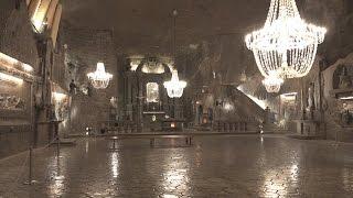 Polonia - La miniera di sale di Wieliczka HD