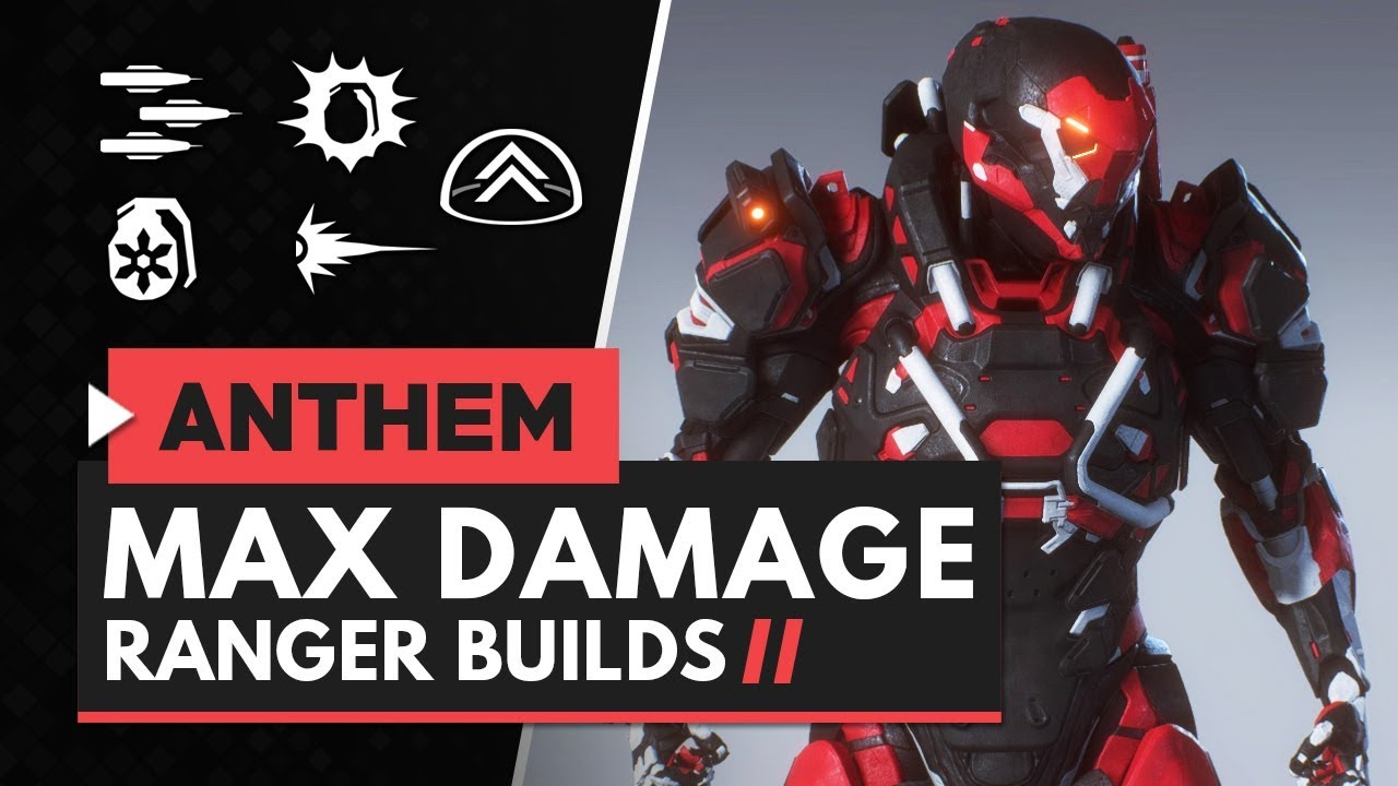 Anthem Ranger Build The Best Ranger Combos And Builds For Dealing