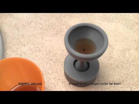 3d printed pythagorean cup