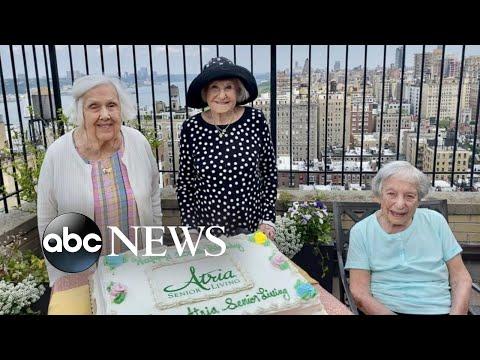 3 centenarians celebrate birthdays together in New York  WNT