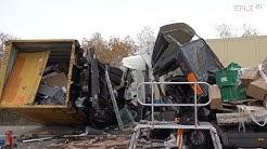 Zwei Tote bei Unfall mit vier LKW auf A9 AS Wiedemar [27.11.2019]