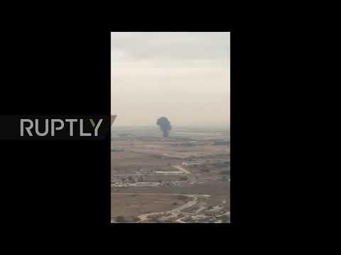 Spain: Pilot killed as military jet crashes outside Madrid