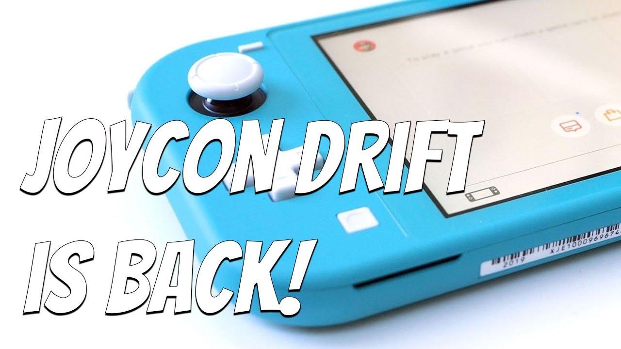 BIG Problem? Nintendo Switch Joycon Drift is BACK
