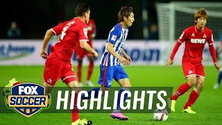 Video Gol Pertandingan Hertha Berlin vs FC Cologne