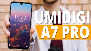 UMIDIGI A7 Pro - Бюджетный смартфон с 4 камерами