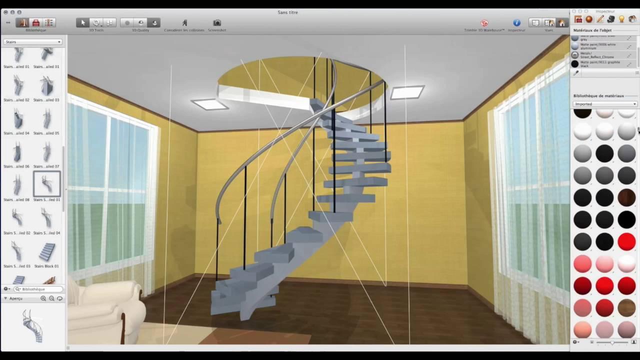 Live interior 3d tutorials fran ais ajouter un for Ouverture tremie pour escalier