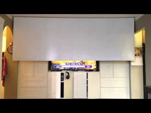Superieur Projection Screen Motor With Remote Control   DIY Projector Screen