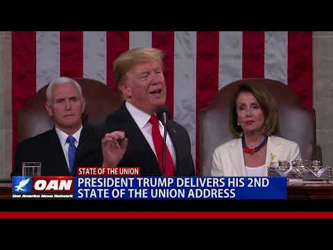President Trump delivers his second State of the Union address