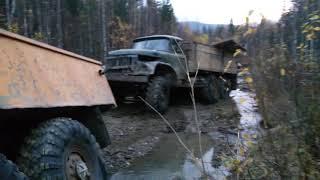 Засадили Урал, на шинах и-159