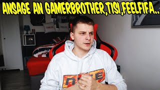 Ansage an GAMERBROTHER, TISISCHUBECH, FEELFIFA und alle anderen FIFA Youtuber - Statement FIFAGAMING