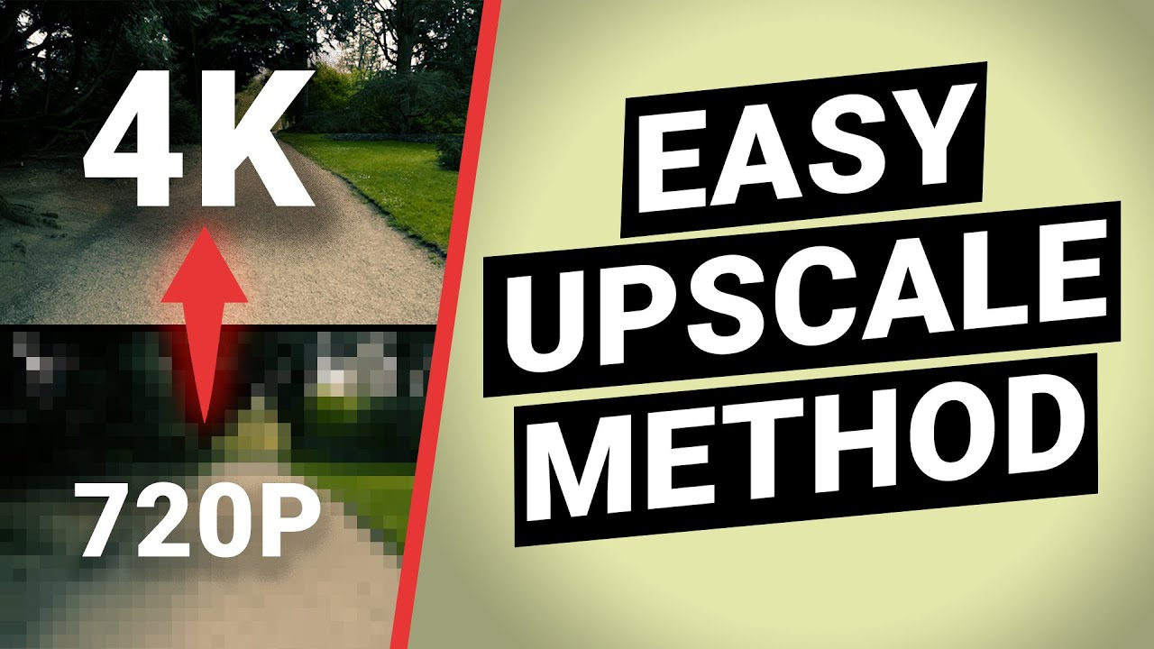 Download How to upscale videos — 4 easy methods to upscale 720p to 4k