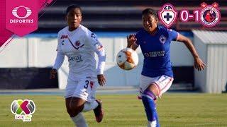 Resumen Cruz Azul 0 - 1 Veracruz   Liga MX Femenil - J18   Televisa Deportes
