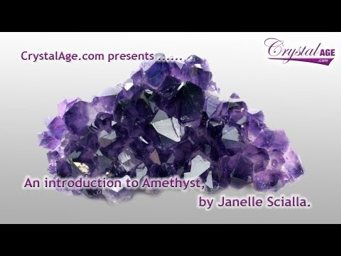 Healing Crystals Guide - Amethyst