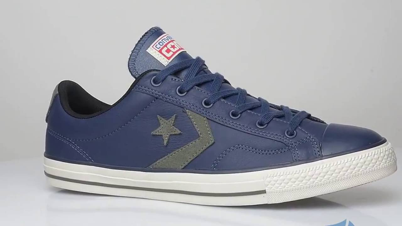converse star player leather ox