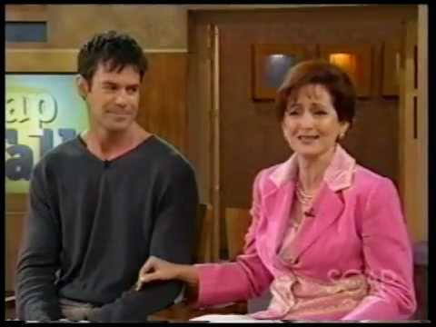 Robin Strasser and Tuc Watkins on Soap Talk, 2005, Part 1