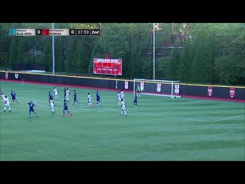 Northeastern Men's Soccer vs. Delaware | September 23, 2017 | Game Recap