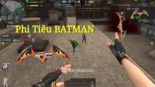 CF Mobile/CF Legends | Phi Tiêu BATMAN - Chất Chơi Người Dơi :)))