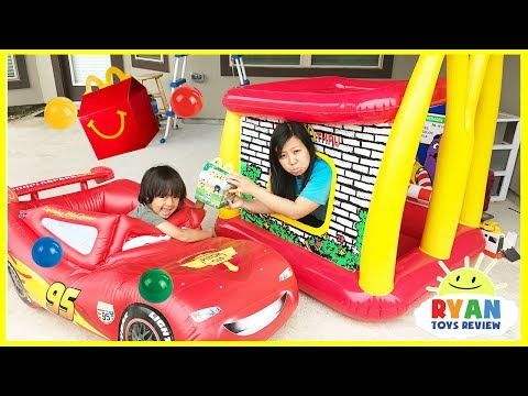 Thumbnail: McDonald's Drive Thru Prank Bad Mommy on Disney Cars Lightning McQueen Power Wheel Ride On Car