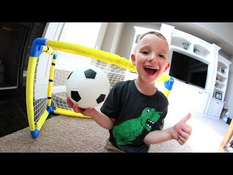 FATHER SON HOUSE SOCCER!